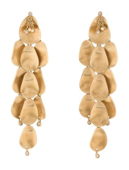 18K Chandelier Earrings yellow