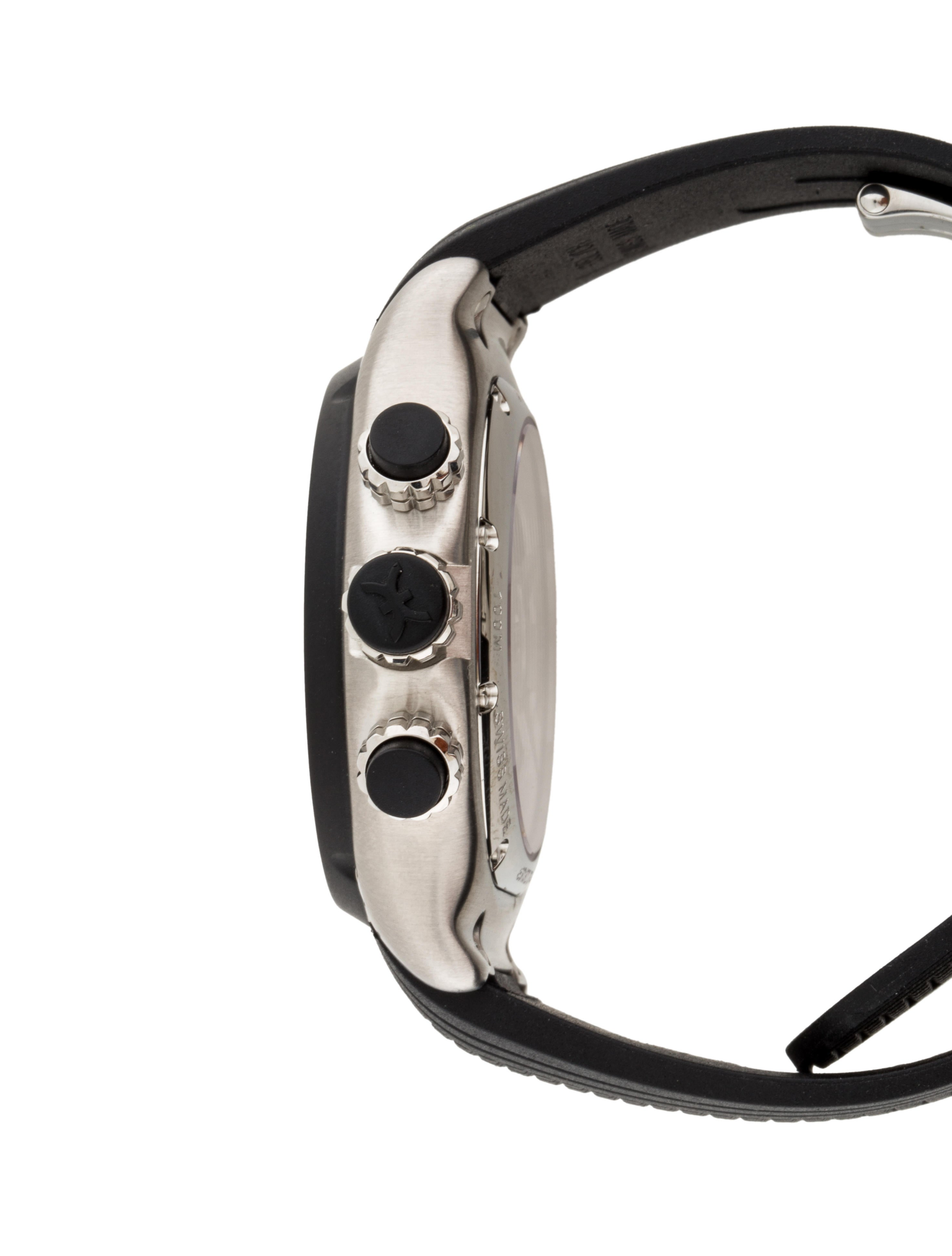 Ebel 1911 BTR Chronograph Watch w/ Tags - Strap - EBE20218