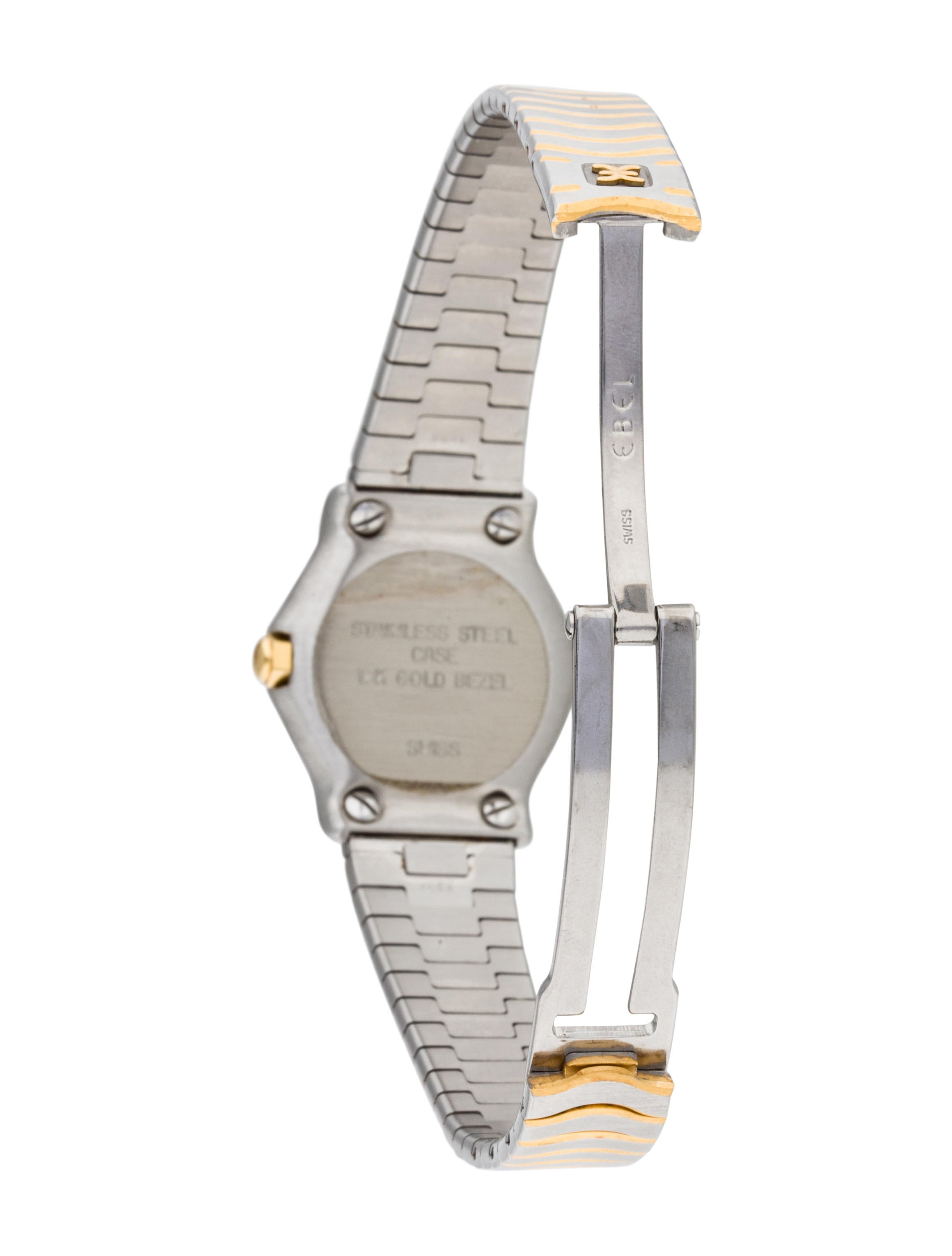 Ebel Classic Wave Watch Bracelet EBE20335 The RealReal : EBE203355enlarged from www.therealreal.com size 2320 x 3060 jpeg 199kB