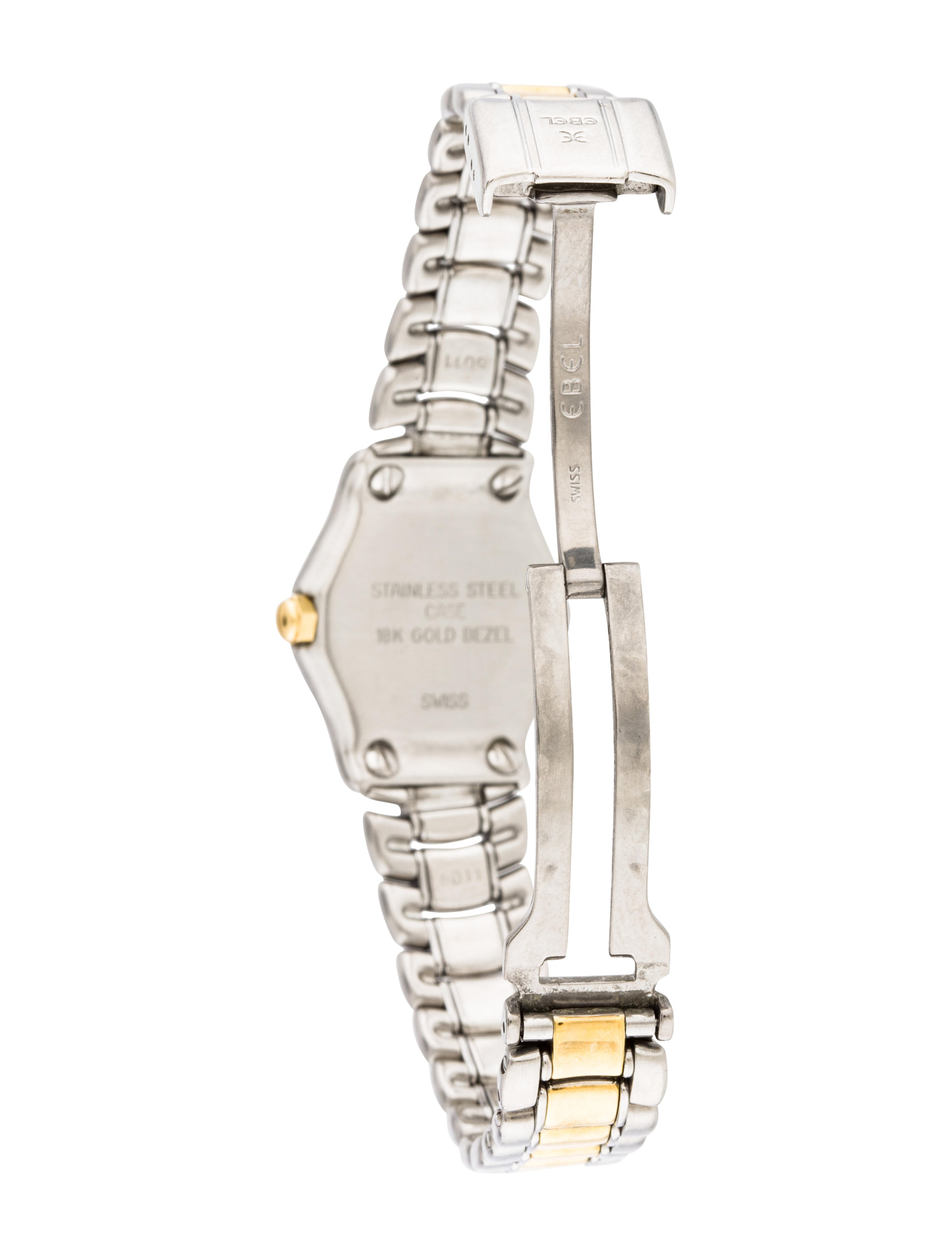 Ebel Classic Watch Bracelet EBE20780 The RealReal : EBE207805enlarged from www.therealreal.com size 3317 x 4376 jpeg 369kB