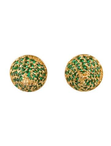 Small Cone Stud Earrings