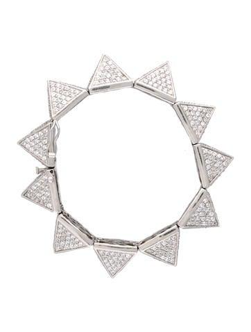 Pave Stud Bracelet