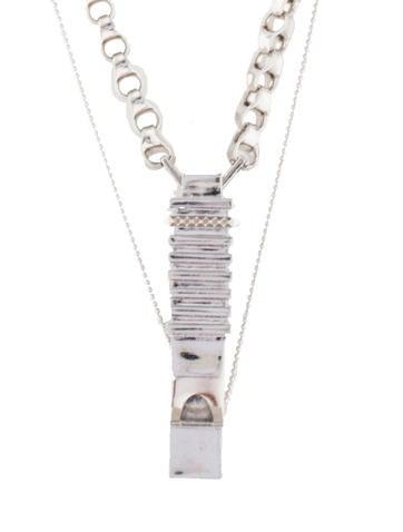 Whistle Pendant Necklace