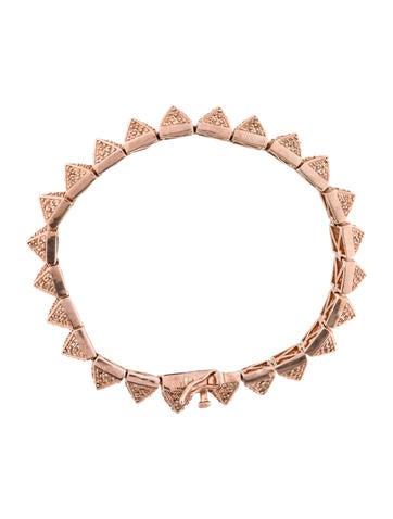 Pavé Pyramid Bracelet