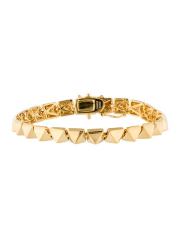 Pyramid Studded Bracelet w/ Tags