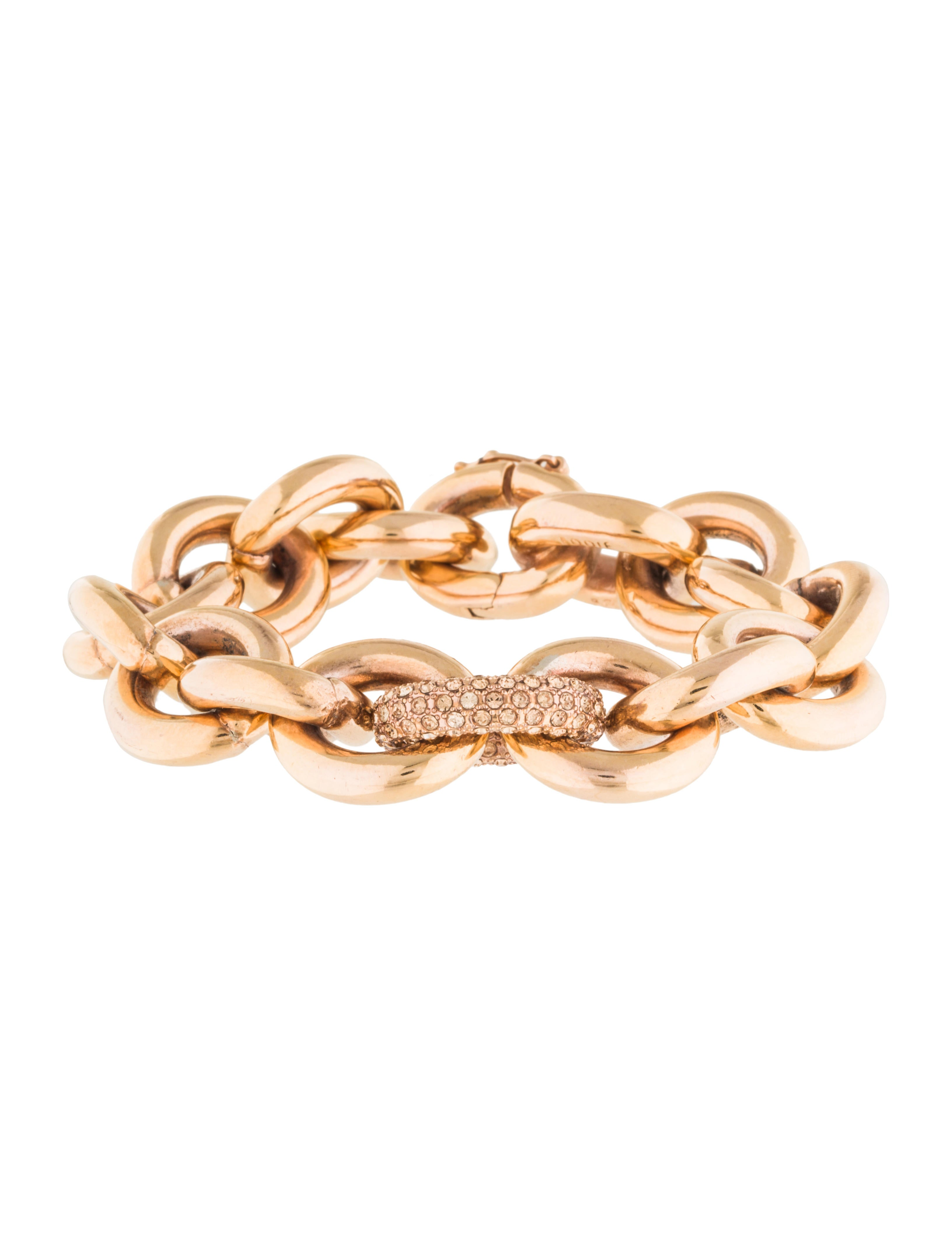 eddie borgo pav 233 link chain bracelet bracelets