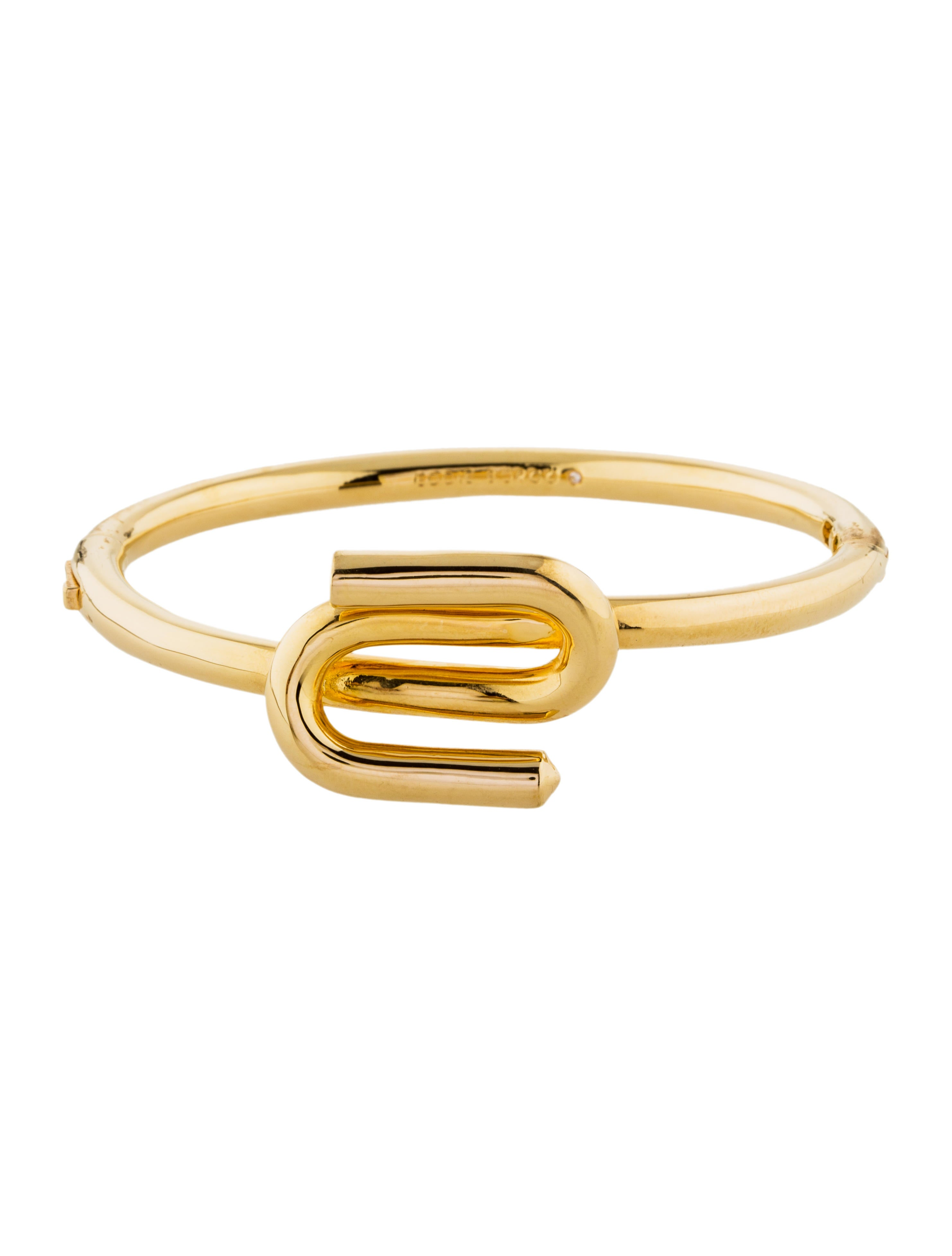 Eddie Borgo Womens Allure Hinged Bracelet LnCbf7KeW