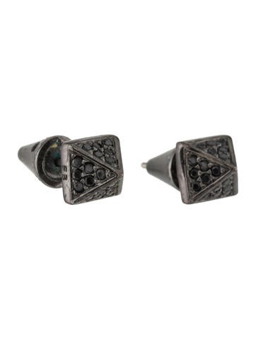 pyramid studs earrings eddie borgo pyramid stud earrings earrings ebo22304 8752