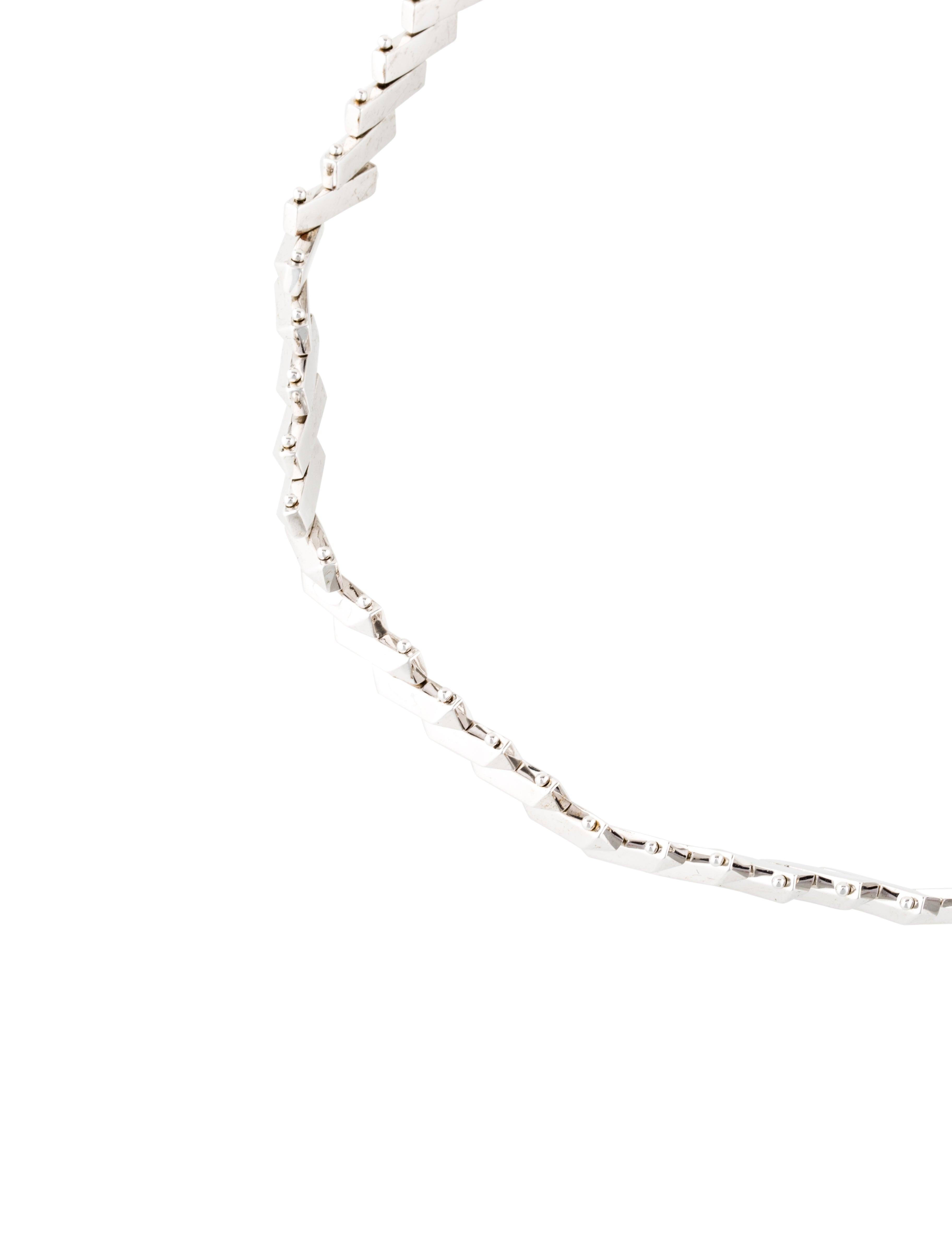 Eddie Borgo Flash Bar Choker Necklace 4CkHamQ6U
