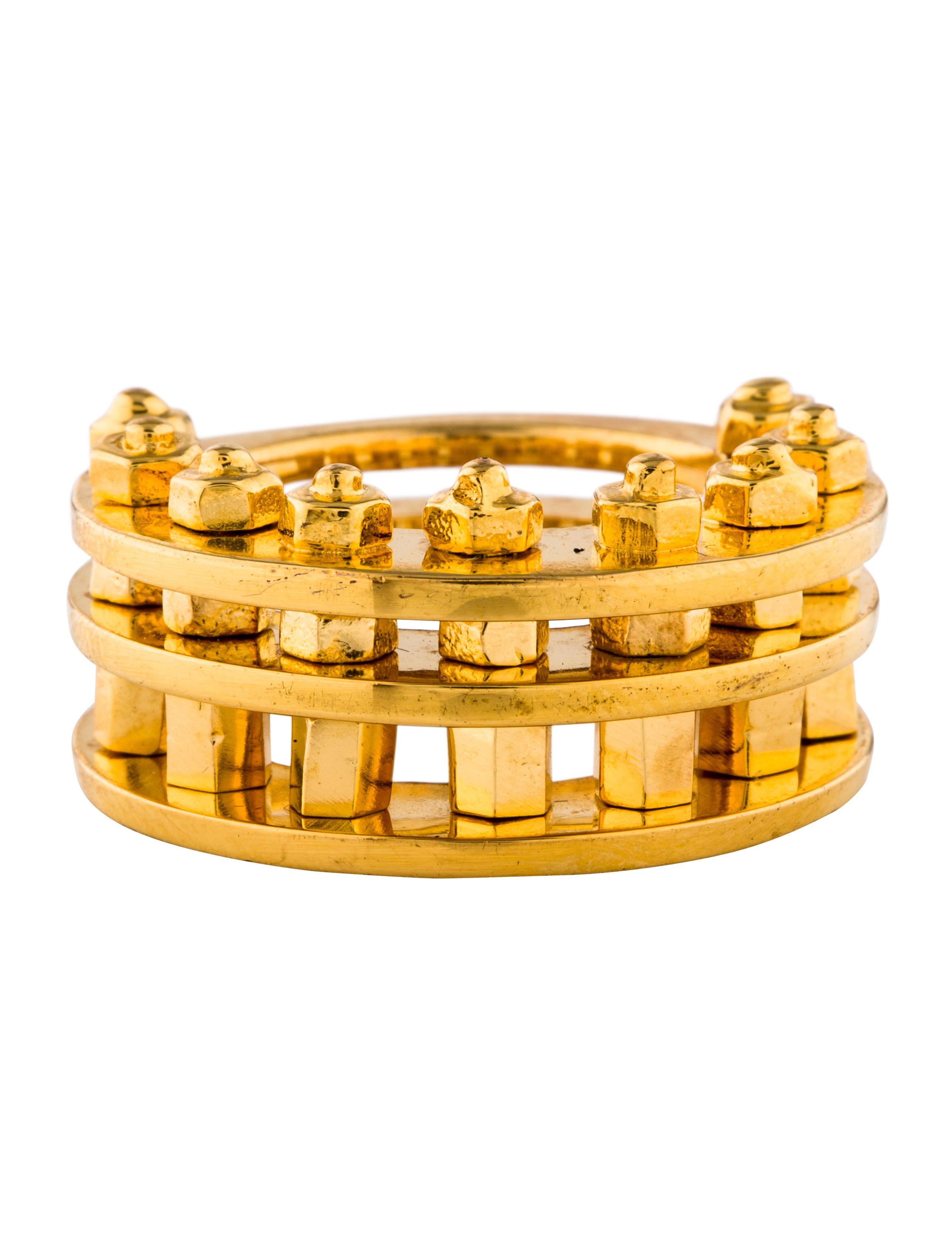 Eddie Borgo Nuts Bolts Ring Rings Ebo22884 The Realreal
