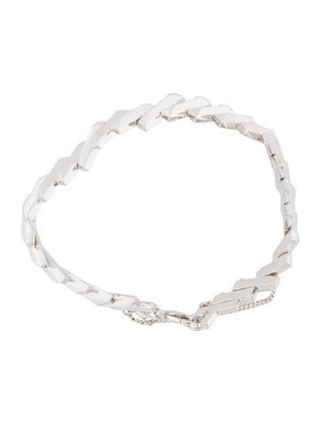 Zig Zag Link Bracelet