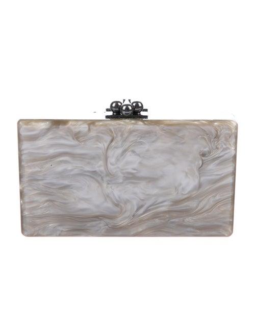 Edie Parker Box Clutch grey