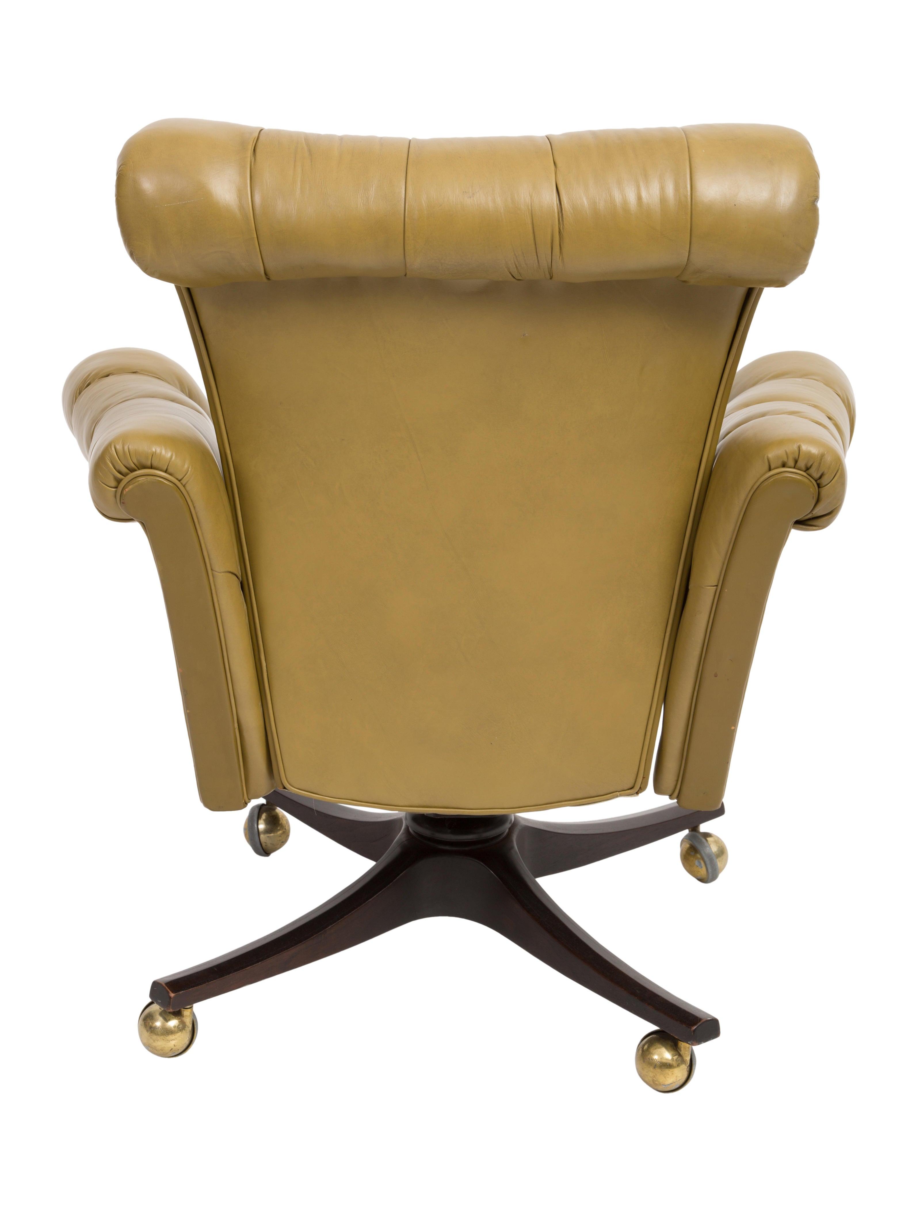 Edward wormley executive desk chair furniture edw20002 the realreal - Edward wormley chairs ...