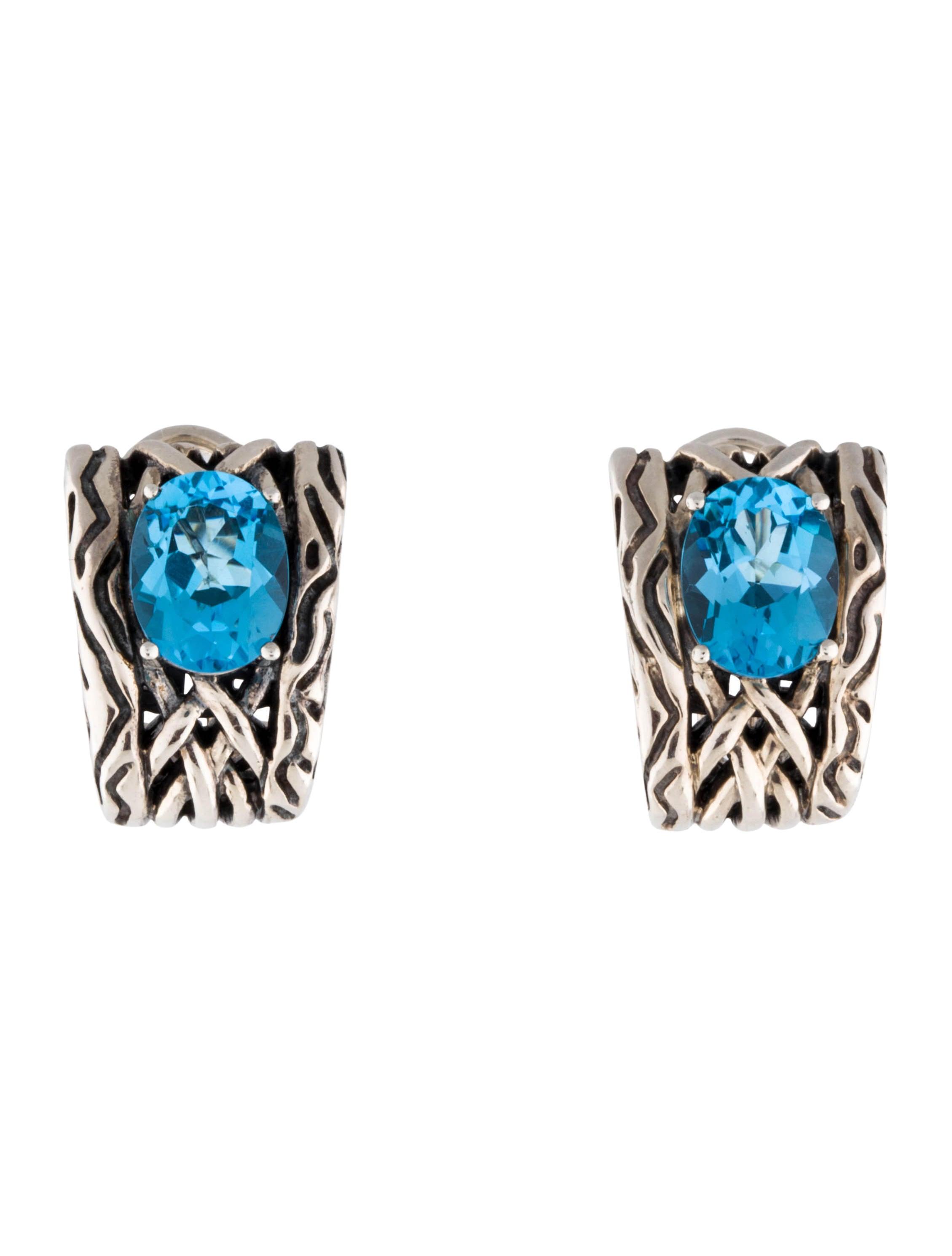 effy jewelry blue topaz earrings earrings eff20033