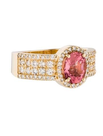 effy jewelry 14k tourmaline diamond cocktail ring