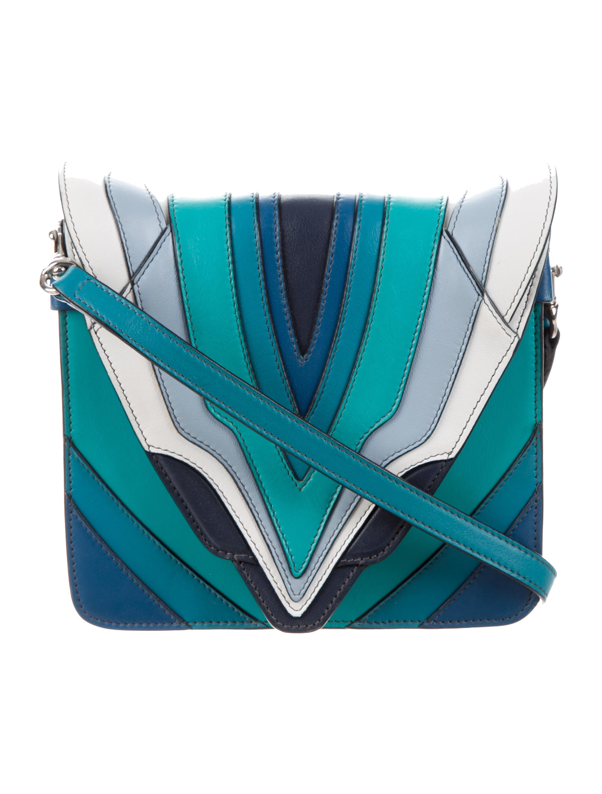 ac17fa702a Elena Ghisellini Selina Mignon Multicolor Crossbody Bag - Handbags ...