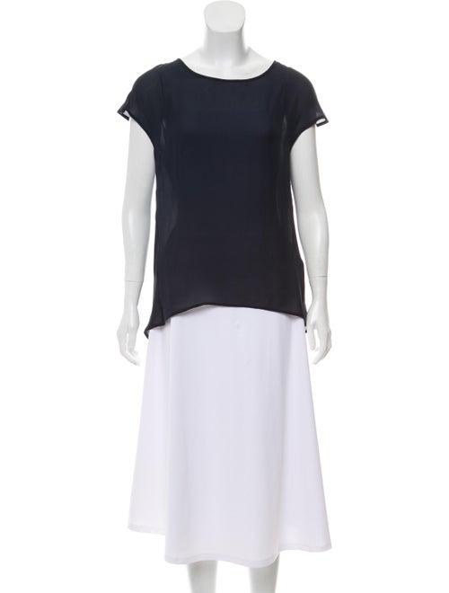 Eleventy Silk Cap-Sleeve Top w/ Tags