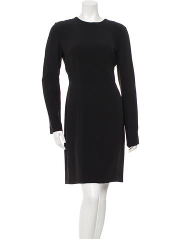 Elie Saab Tie-Accented Sheath Dress w/ Tags