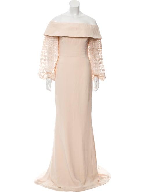 Elizabeth Kennedy 2018 Balloon Sleeve Gown