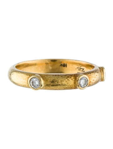 Elizabeth Locke Diamond Band Ring