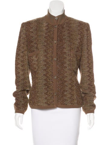 Emanuel Ungaro Long Sleeve Knit Sweater None