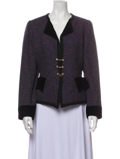 Emanuel Ungaro Vintage 1980's Evening Jacket Purpl