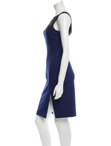 Silk Sleeveless Dress