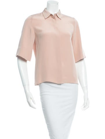 Emilio Pucci Silk Top None