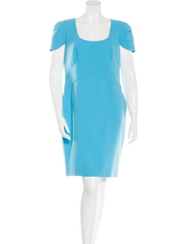 Emilio Pucci Virgin Wool Sheath Dress None