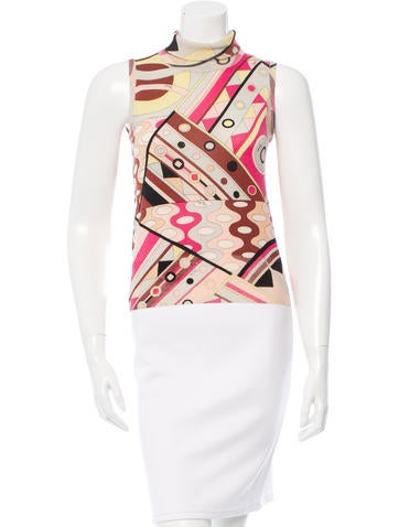 Emilio Pucci Wool Printed Top None