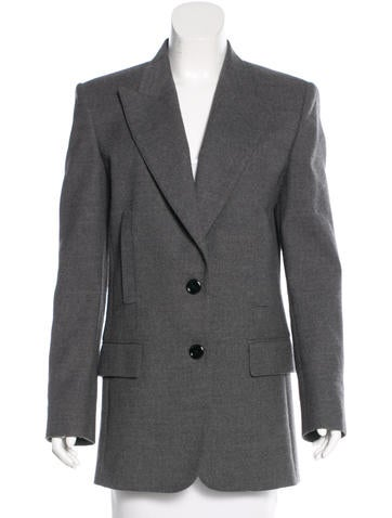 Emilio Pucci Fitted Virgin Wool Blazer None