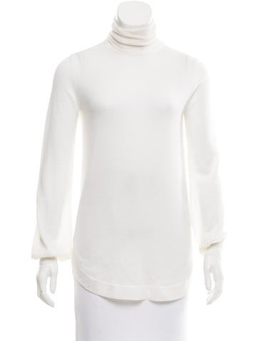 Emilio Pucci Wool Turtleneck Top None