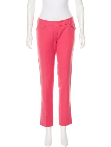 Emilio Pucci Virgin Wool Pants None