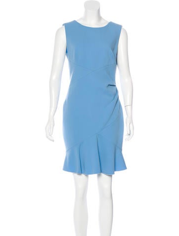 Emilio Pucci Wool Flounce Dress None