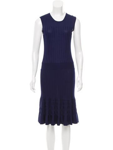 Emilio Pucci Wool Midi Dress w/ Tags None