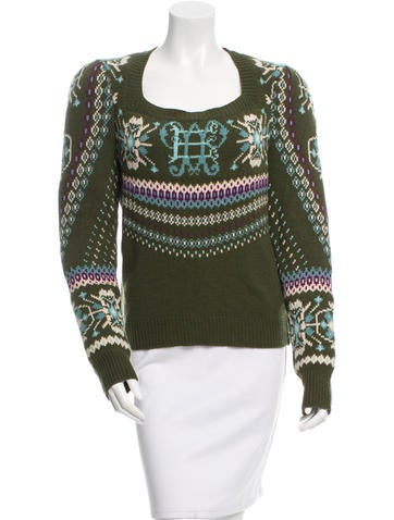 Emilio Pucci Wool Knit Sweater w/ Tags None