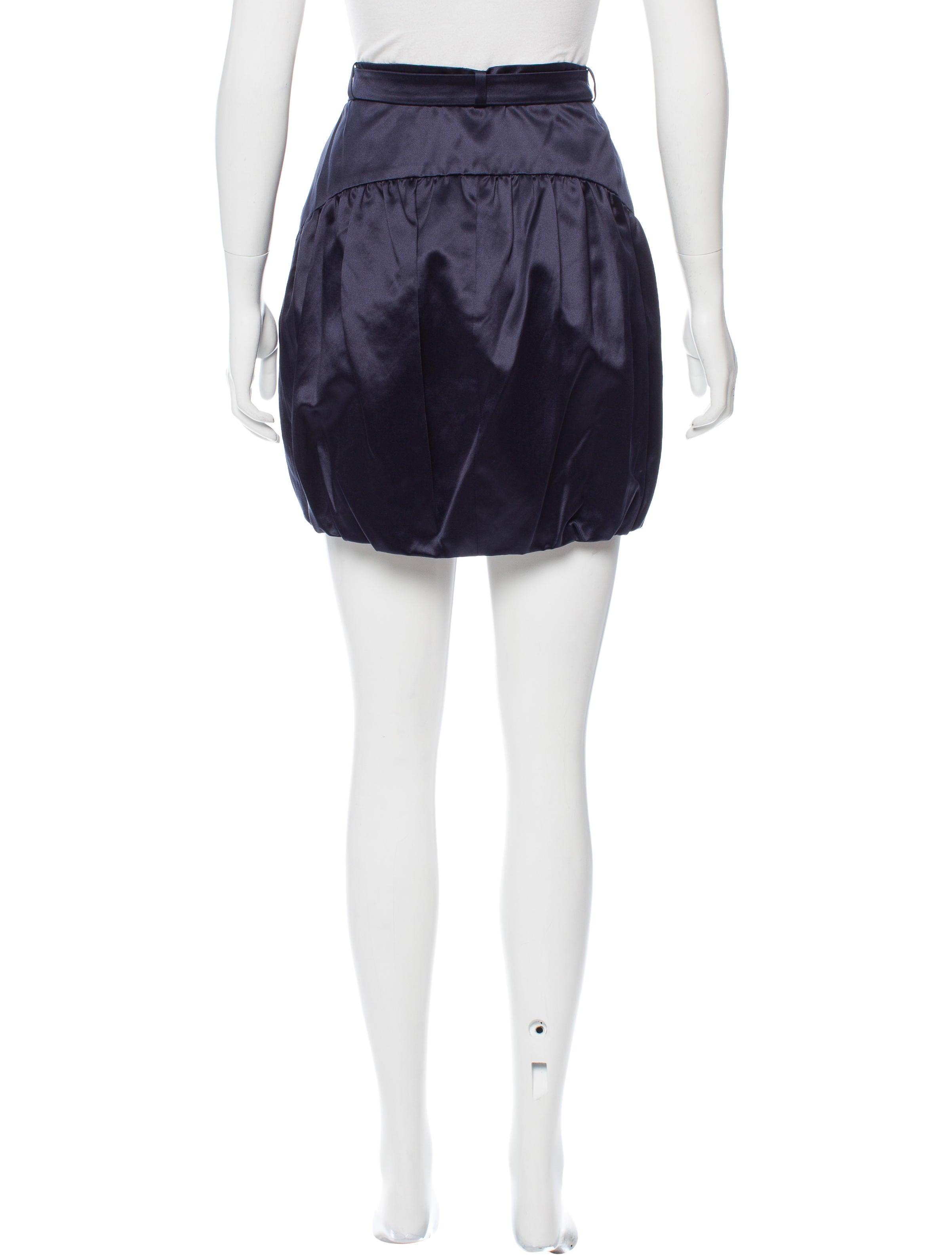 Belted Mini Skirt 80