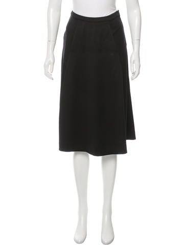 Emilio Pucci A-Line Wool Skirt None