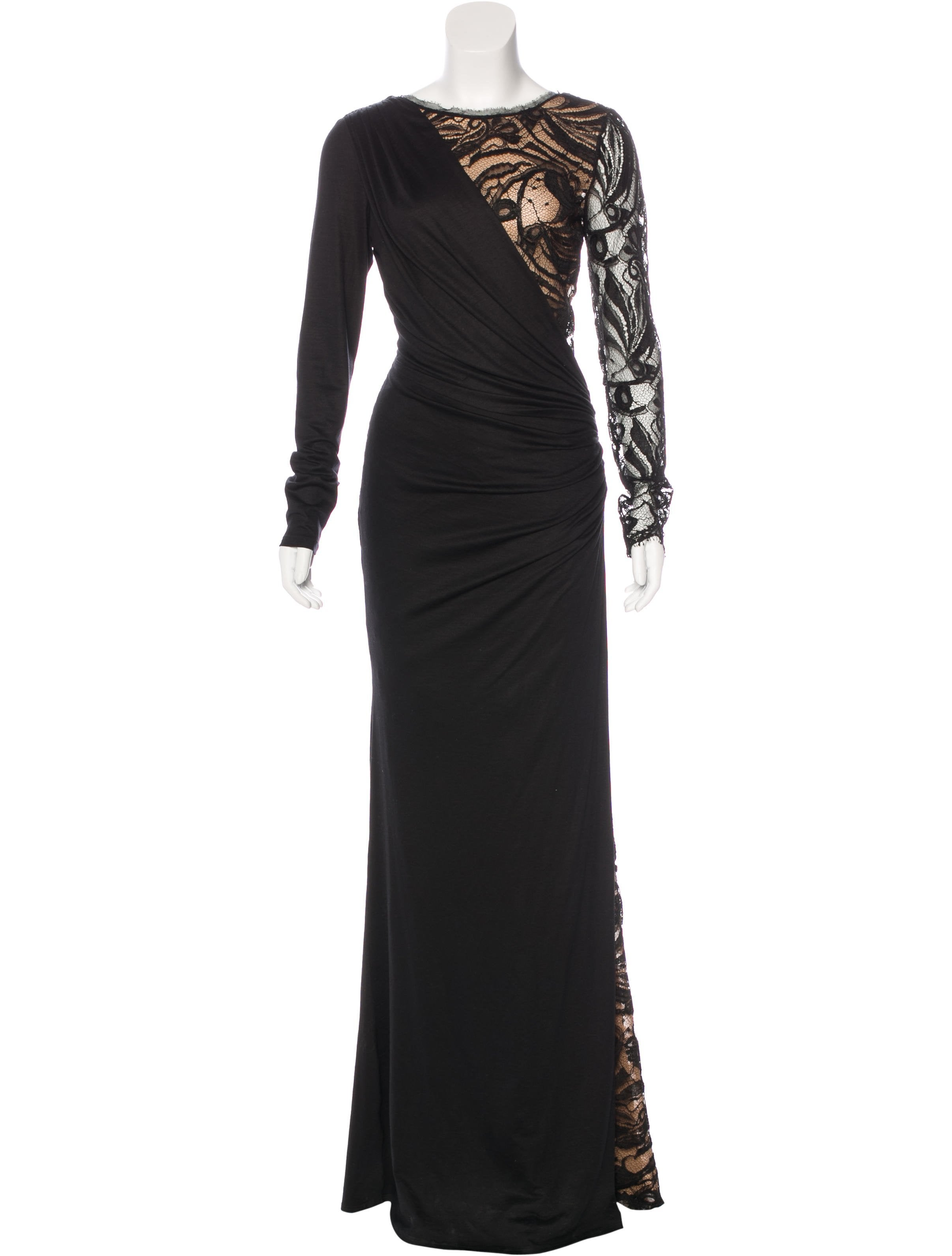 Emilio Pucci Lace Evening Dress - Clothing
