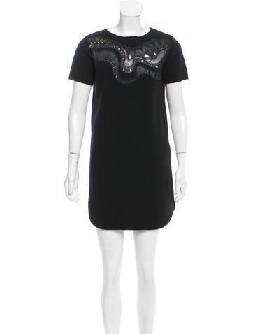 Emilio Pucci Wool Mini Dress None