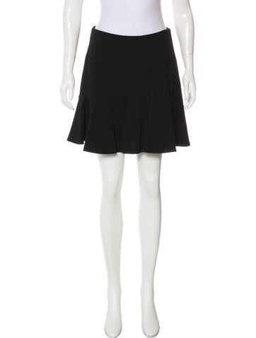 Emilio Pucci Wool Flounce Skirt None