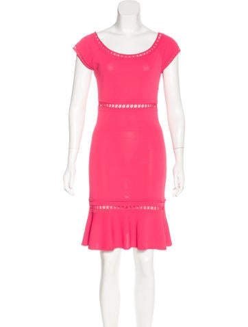 Emilio Pucci Knit Knee-Length Dress None