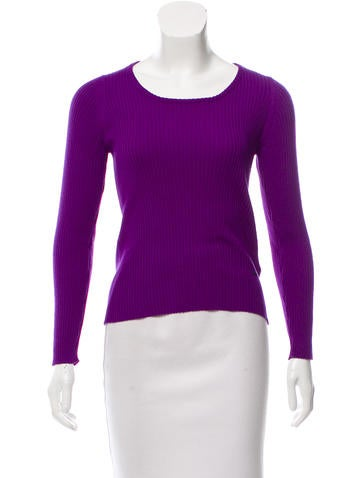 Emilio Pucci Ribbed Wool Sweater None