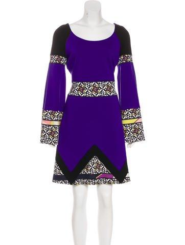 Emilio Pucci Wool Sweater Dress None