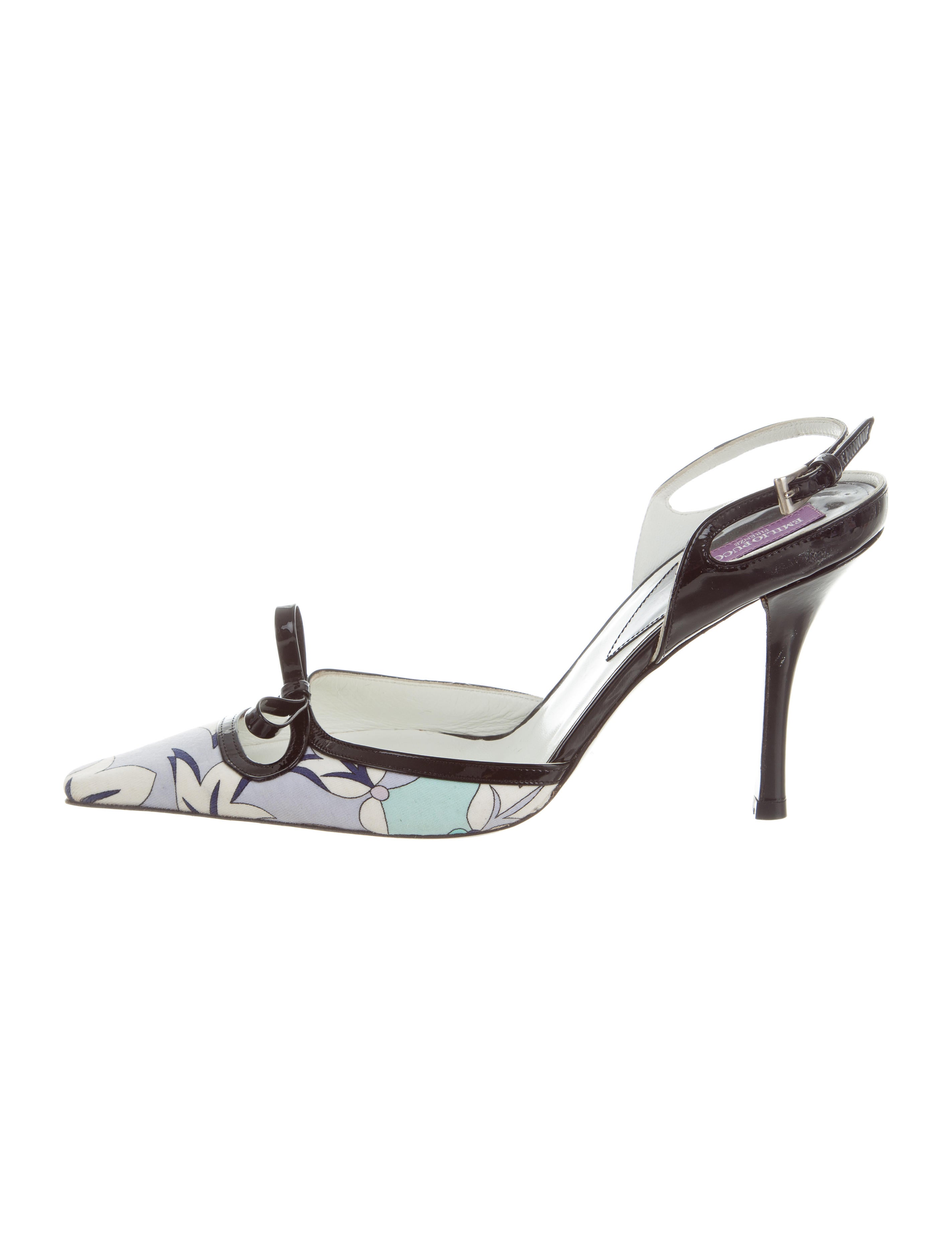 Emilio Pucci Patent Leather Pointed-Toe Pumps cheap discount clearance best prices EaxD1pKF