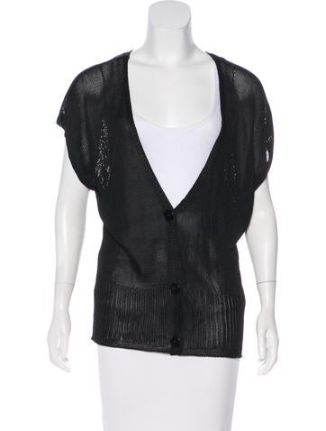 Emilio Pucci Knit Short Sleeve Cardigan None