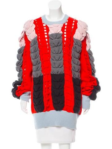 Emilio Pucci Wool Oversize Sweater None