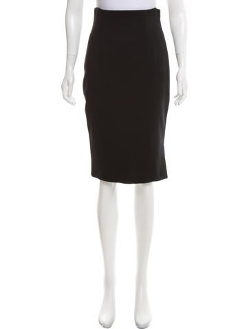 Emilio Pucci Knee-Length Wool Skirt None