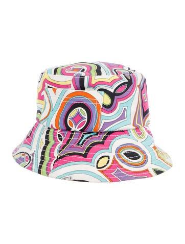 7ba0d6163a9 Emilio Pucci. Printed Hat