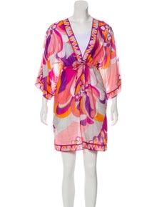 59f38e6c61b Emilio Pucci. Printed Swimsuit Cover-Up. Size: M ...